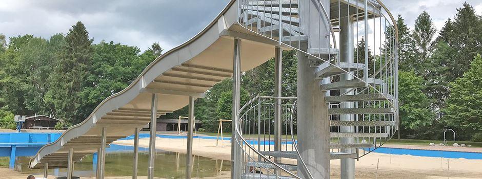 Rutsche und Seilbahn: Neue Attraktionen im Schneverdinger Quellenbad