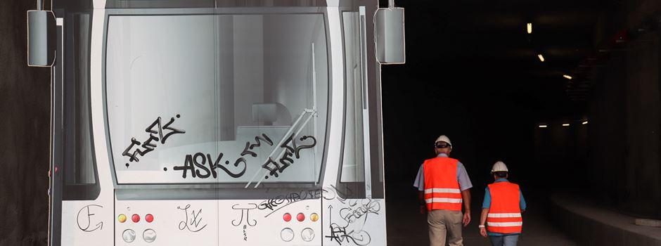 Bahnhofstunnel-Bau – Werden 2023 die Trams fahren können?