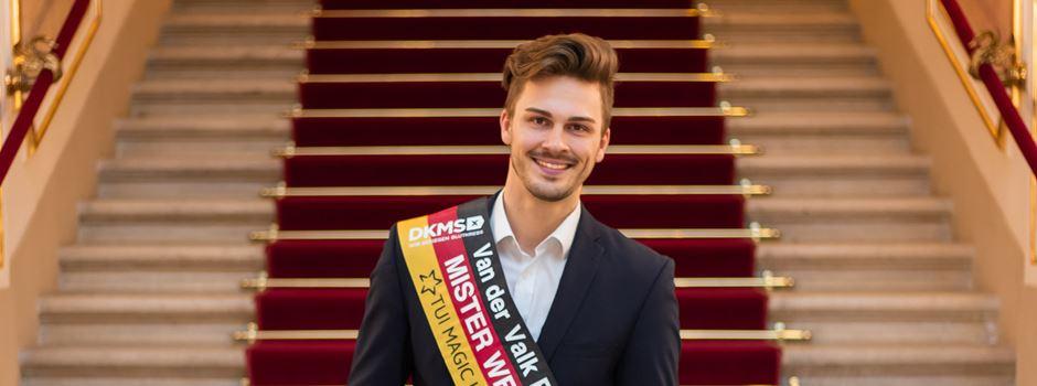 """Ein Wiesbadener Student kämpft um den Titel """"Mister Germany"""""""