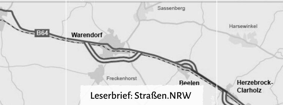 """Leserbrief: """"Straßen.NRW und die Corona-Krise"""""""