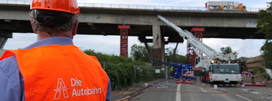 Wie geht es an der Salzbachtalbrücke weiter?