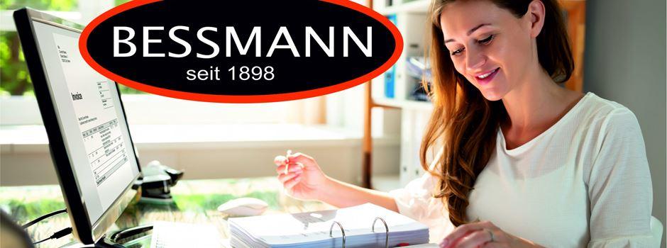 Stellenanzeige: Firma Bessmann sucht Sachbearbeiter für die Kreditorenbuchhaltung