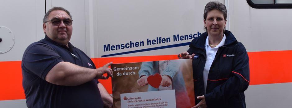 Anzeige: Stiftung der Kreissparkasse Wiedenbrück unterstützt Malteser Herzebrock-Clarholz