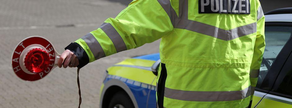 Fahrer gibt Gas: Verfolgungsfahrt