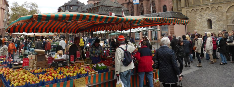 Neue Regeln für den Mainzer Wochenmarkt