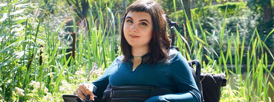 Leben mit Muskelschwund: Neun Assistenten für Eliza