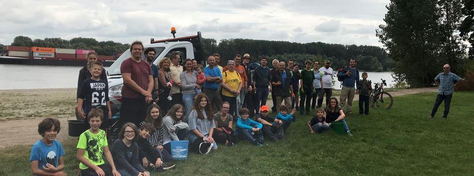 RHINE CLEAN UP 2021 in Oppenheim: 50 mal Danke
