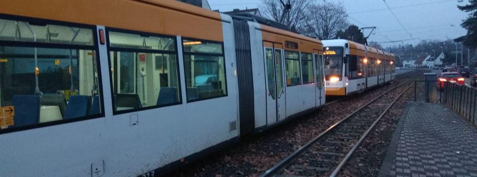 Unfall mit Straßenbahn in Gonsenheim