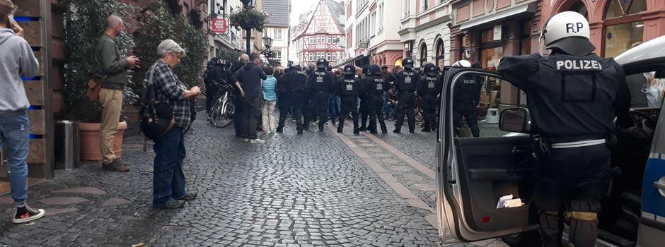 Vor Lautern-Spiel: Rieseneinsatz in der Mainzer Innenstadt