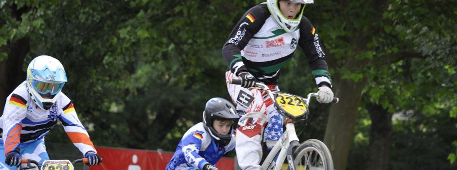 Herzebrocker Fahrer beim Race BMX Event in Bielefeld