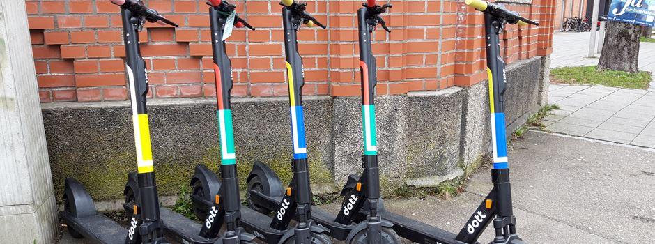 Dott – dritter E-Scooter Anbieter startet in Augsburg