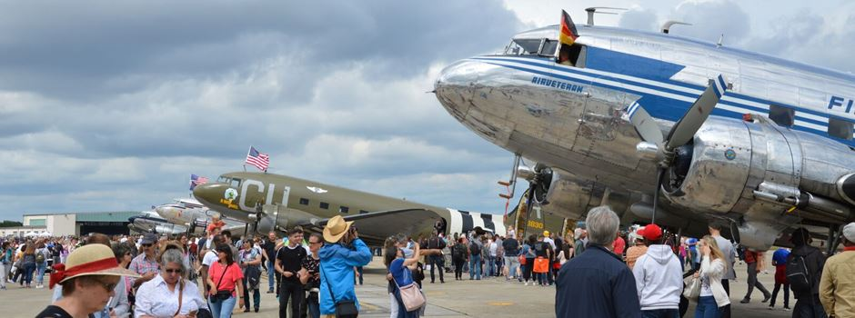 So war die Flug-Show in Erbenheim