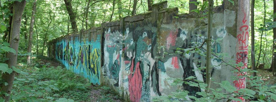 Was hinter den Mauern im Wiesbadener Wald steckt