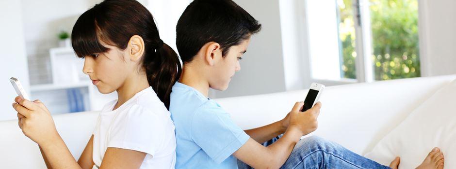Wenn das Smartphone den Kinderalltag prägt