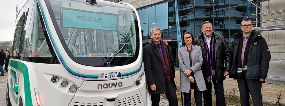 Warum ein führerloser Bus durch Wiesbaden fährt