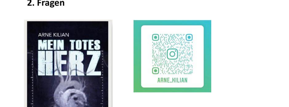 Arne Kilian liest digital an der Von-Zumbusch-Gesamtschule