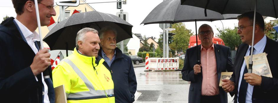 Bahnübergangssteuerungsanlage an Rheidter Südstraße fast fertig