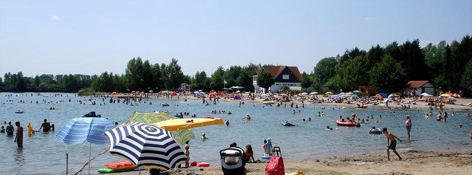 Welche Badeseen gibt es rund um Mainz?