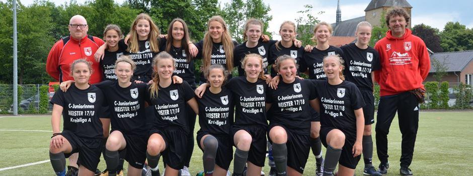 Fussball: C-Juniorinnen sind Kreismeister