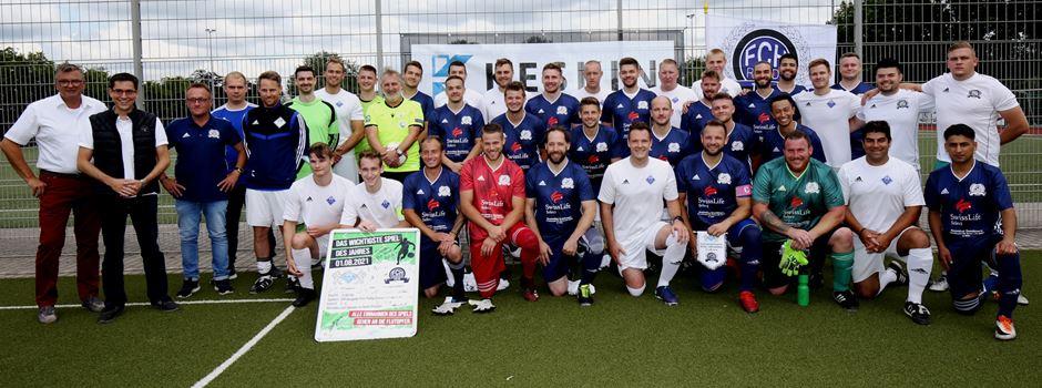 Flutopfer-Benefiz-Fußballspiel: VfR-Hangelar VS. FC Hertha Rheidt