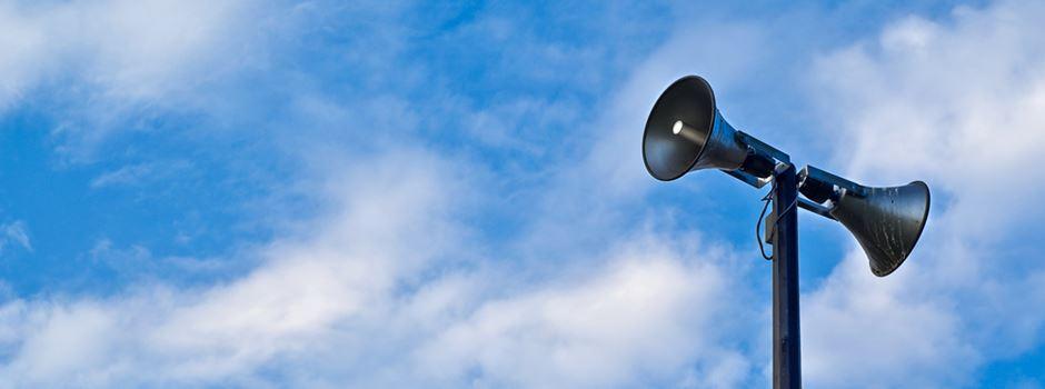 Sirenenprobe: In Wiesbaden wird es laut
