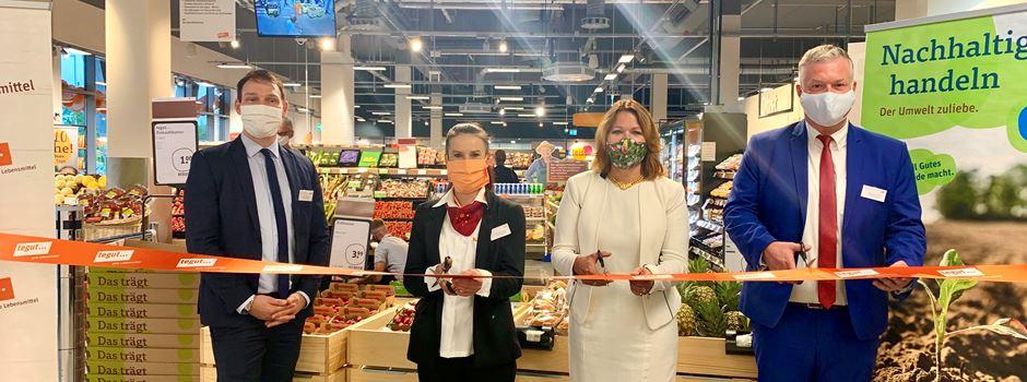 "Neuer ""Tegut""-Supermarkt eröffnet"