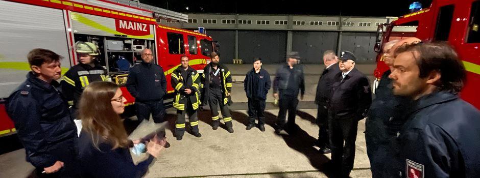 Über 100 Mainzer Feuerwehrleute in der Krisenregion im Einsatz