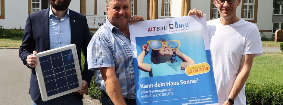 "Beratungsaktion ""Kann dein Haus Sonne?"" in Herzebrock-Clarholz"