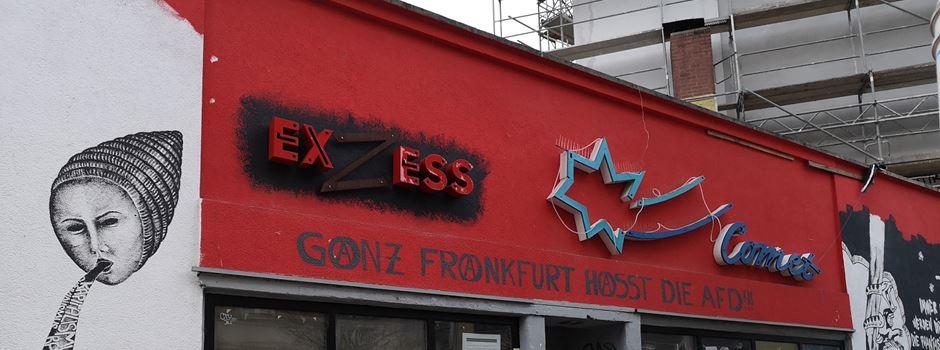 Zwei Brände am Café Exzess: Betreiber sprechen von Anschlägen