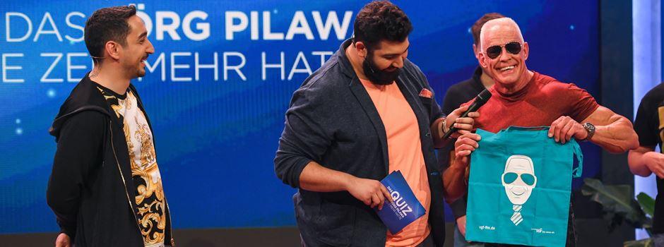 Bahnbabo trifft Eko Fresh in TV Show
