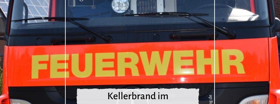 Kellerbrand im Altenwohnheim