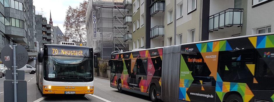 Warum die Busse jetzt Mainzer Stadtteile anzeigen