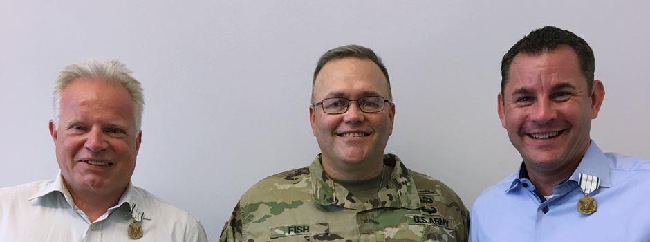 Sven Gerich mit Medaille der US-Army ausgezeichnet