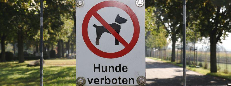 Rheidt: Hundeverbotsschilder am Friedhof täglich ignoriert
