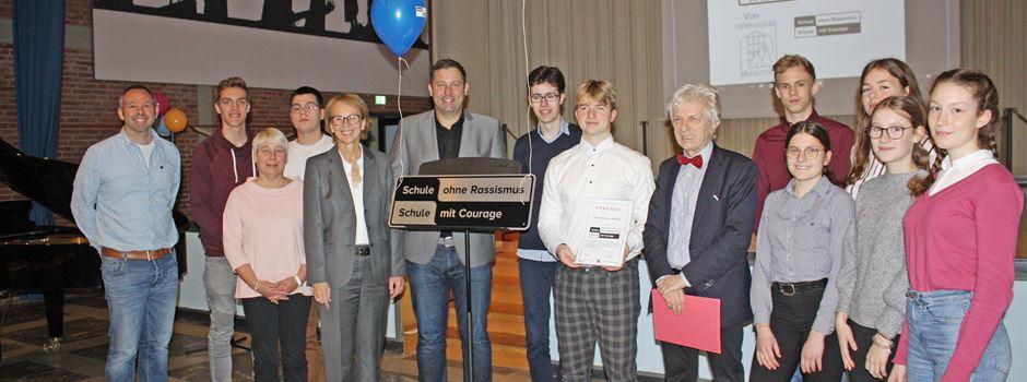 """Gymnasium Munster ist jetzt """"Schule ohne Rassismus - Schule mit Courage"""""""
