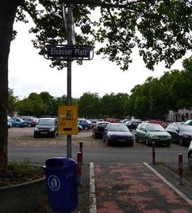 Zu Viele Parkplatze Auf Dem Elsasser Platz