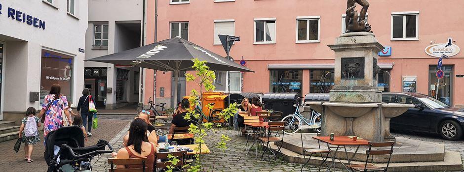 Bildergalerie: Außengastronomie in Augsburg erwacht zu neuem Leben
