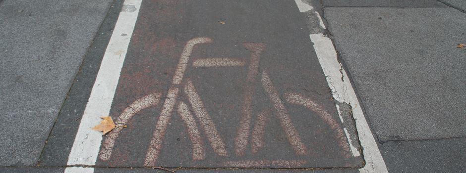 Wie sicher sind die Wiesbadener Radwege?