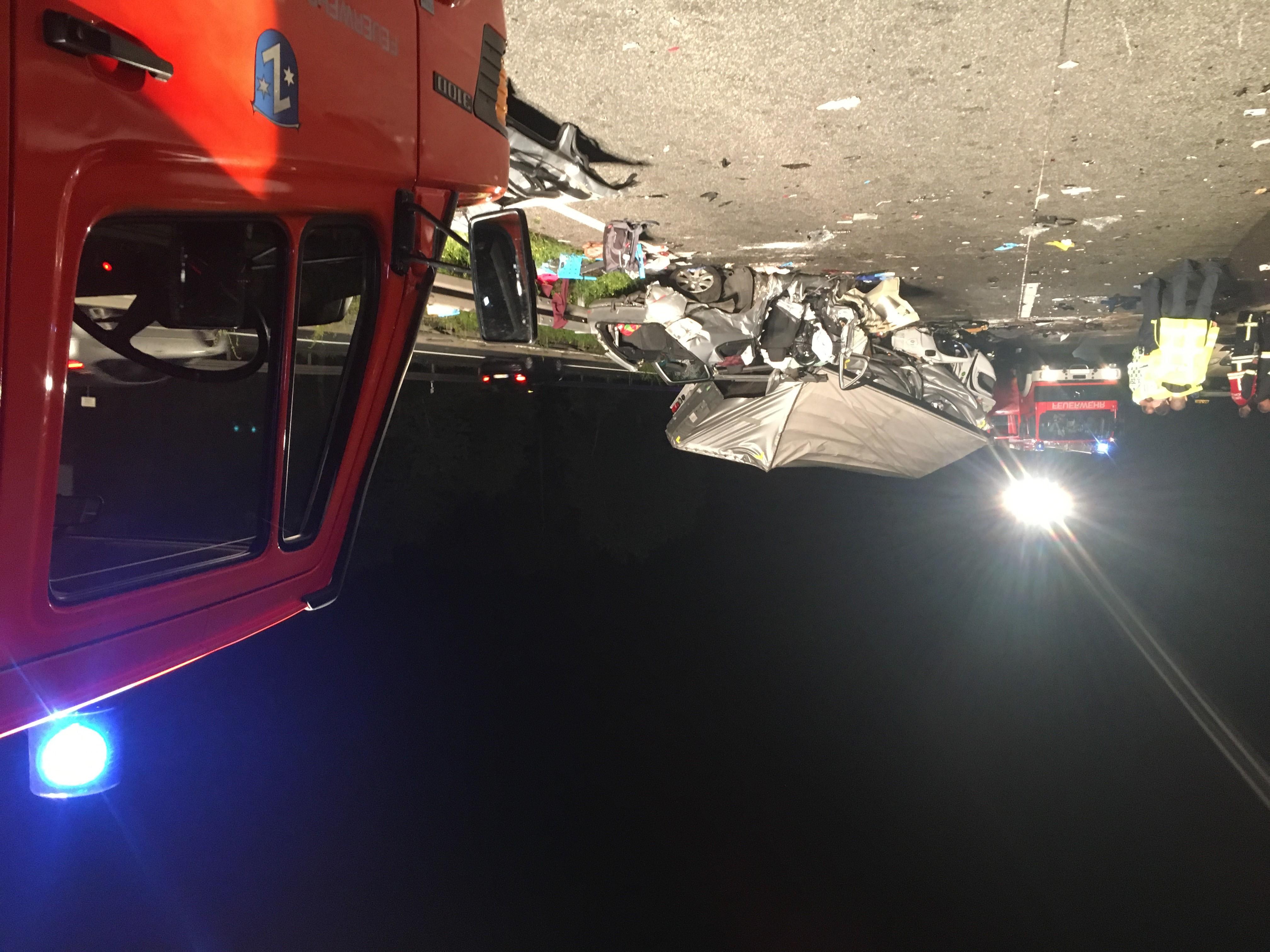 Lkw-Geisterfahrt auf A67 bei Rüsselsheim - mehrere Tote