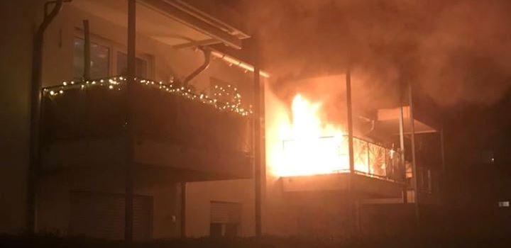 Wohnung nach Brand an Silvester unbewohnbar: Spendenaktion soll helfen