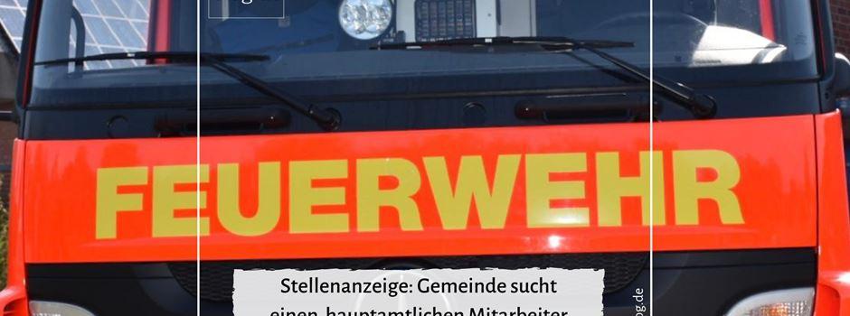 Stellenanzeige: Gemeinde Herzebrock-Clarholz sucht hauptamtlichen Mitarbeiter für die Feuerwehr