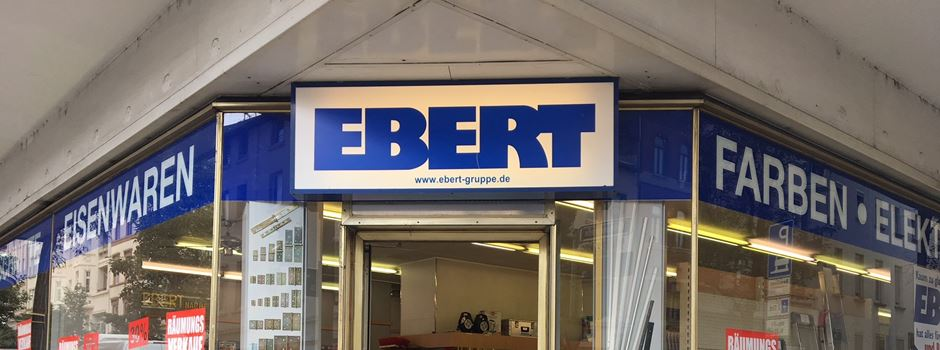 Traditionsgeschäft 'Ebert' macht nach 111 Jahren dicht