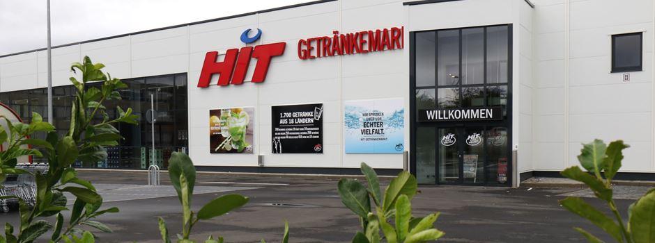 Neuer HIT-Getränkemarkt in Rheidt ist größter Getränkemarkt im Rhein-Sieg-Kreis