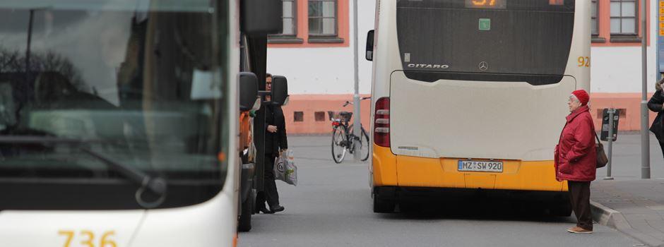 Warnstreik in Hessen: Auswirkungen auf Busverkehr in Mainz