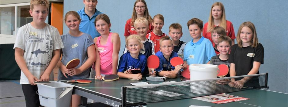 Ferienspiele: Tischtennis Schnupperkurs in Clarholz