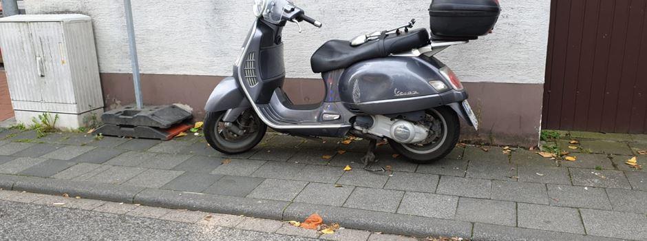 Unfall mit Rollerfahrer in Rheidt