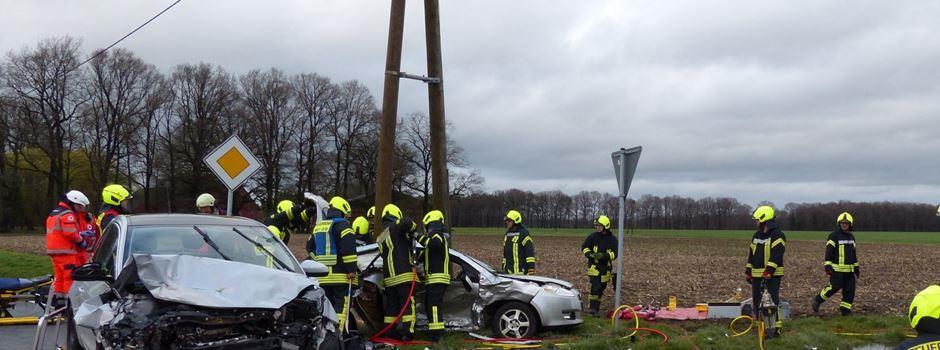 5 Verletzte bei Verkehrsunfall in Clarholz