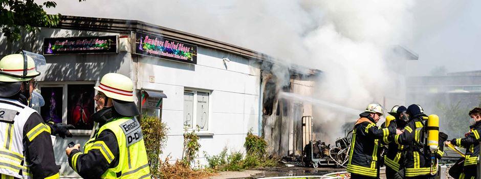 Großbrand in Hechtsheim: Ursache bekannt