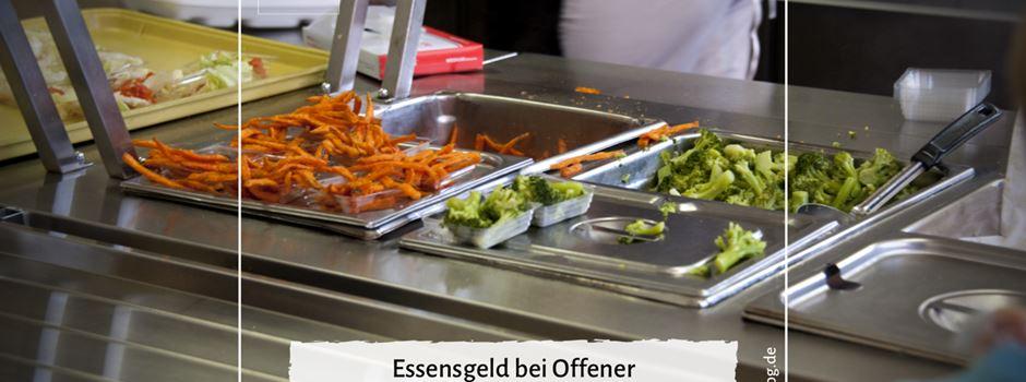 Essensgeld bei Offener Ganztagsbetreuung wird einzeln abgerechnet