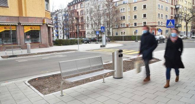 Baustelle in der Boppstraße sorgt für Verkehrsbehinderungen
